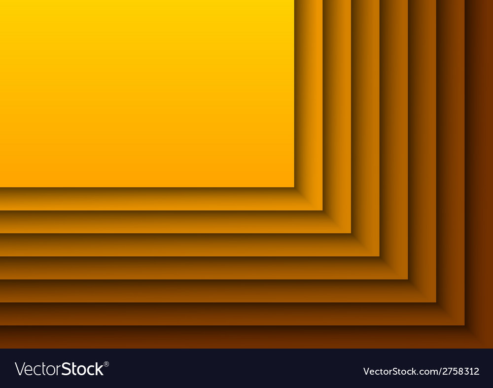 Layers orange vector | Price: 1 Credit (USD $1)