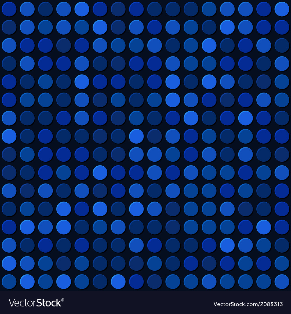 Blue abstract seamless background with bubbles vector | Price: 1 Credit (USD $1)