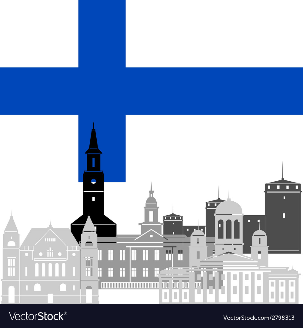 Finland vector | Price: 1 Credit (USD $1)