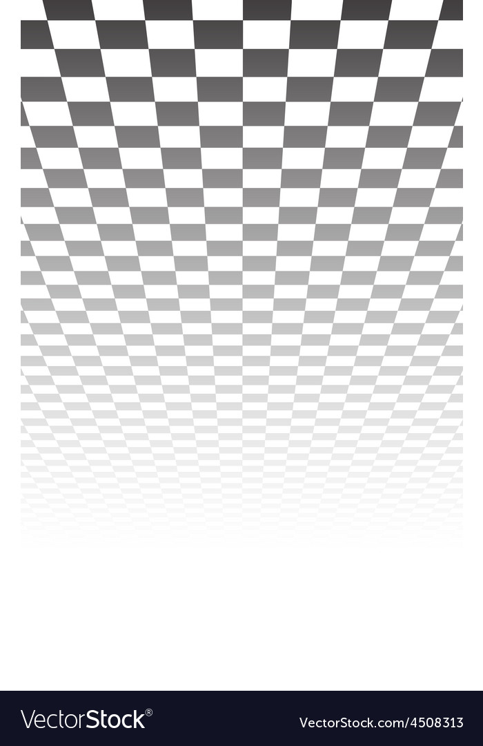 Perspective checkered surface vector | Price: 1 Credit (USD $1)