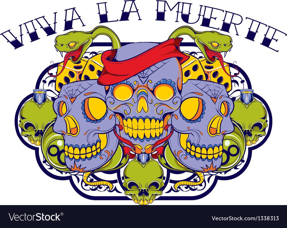 Viva la muerte vector | Price: 1 Credit (USD $1)