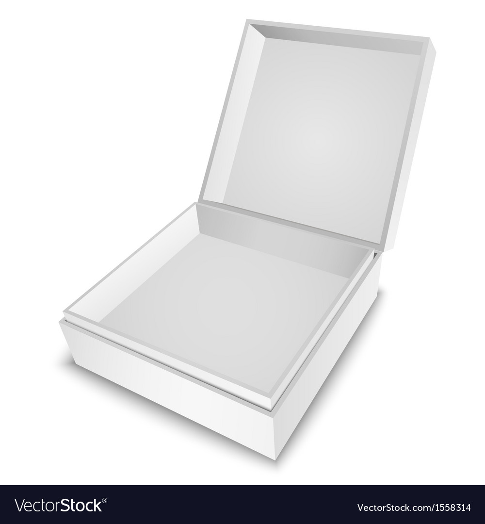 Gift box white vector | Price: 1 Credit (USD $1)