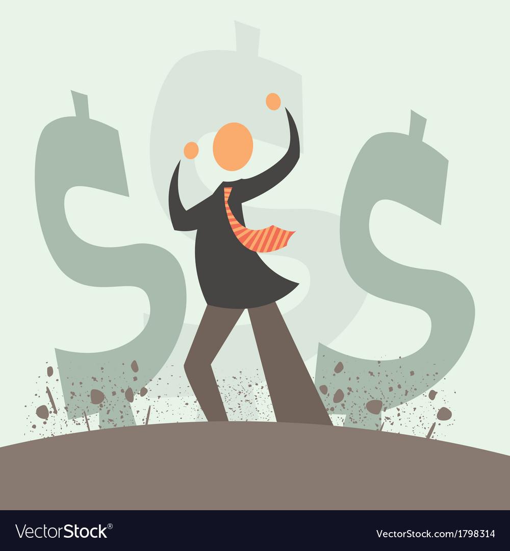 Monetary explosion vector | Price: 1 Credit (USD $1)