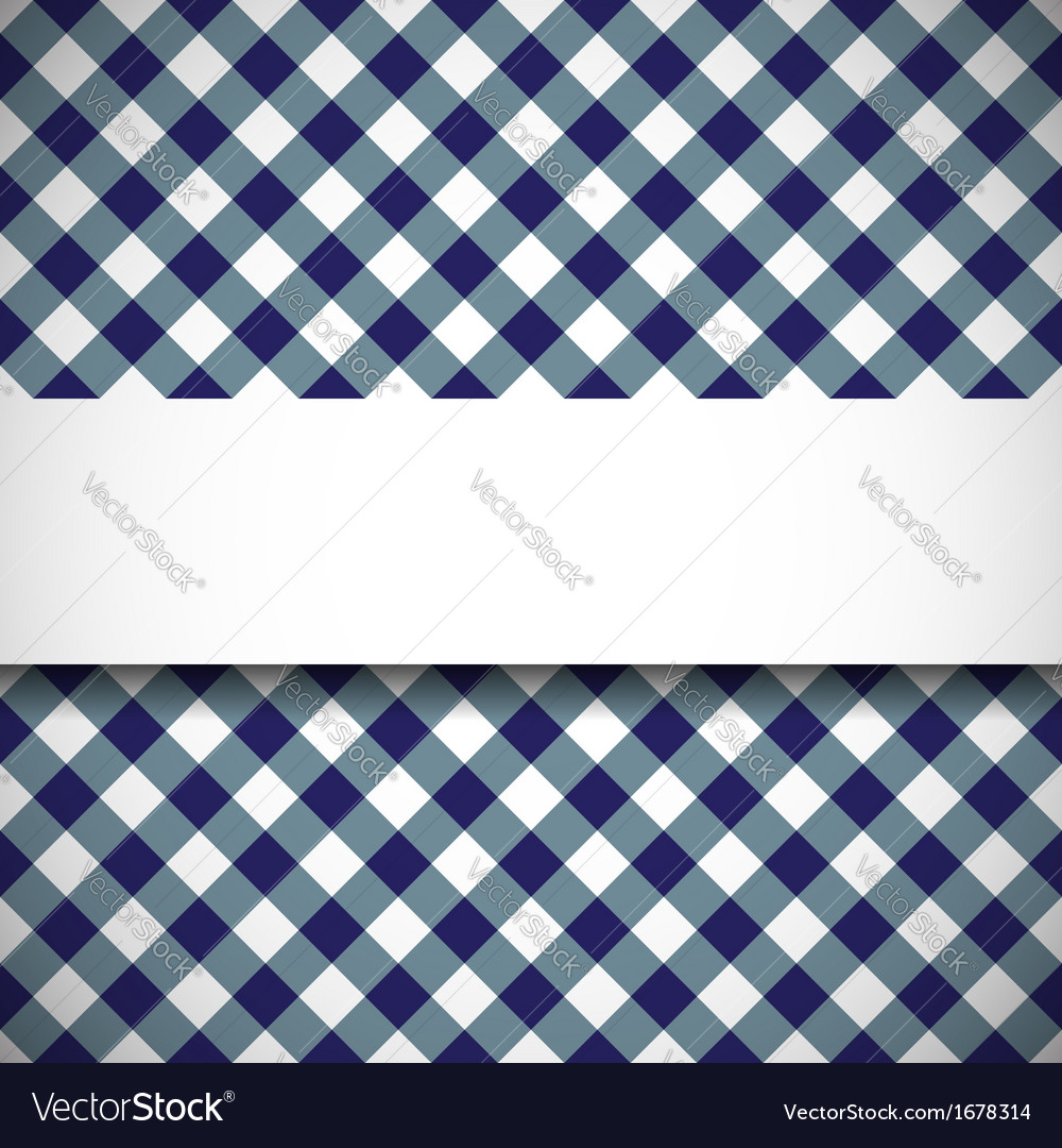 Tilted gingham plaid pattern vector | Price: 1 Credit (USD $1)