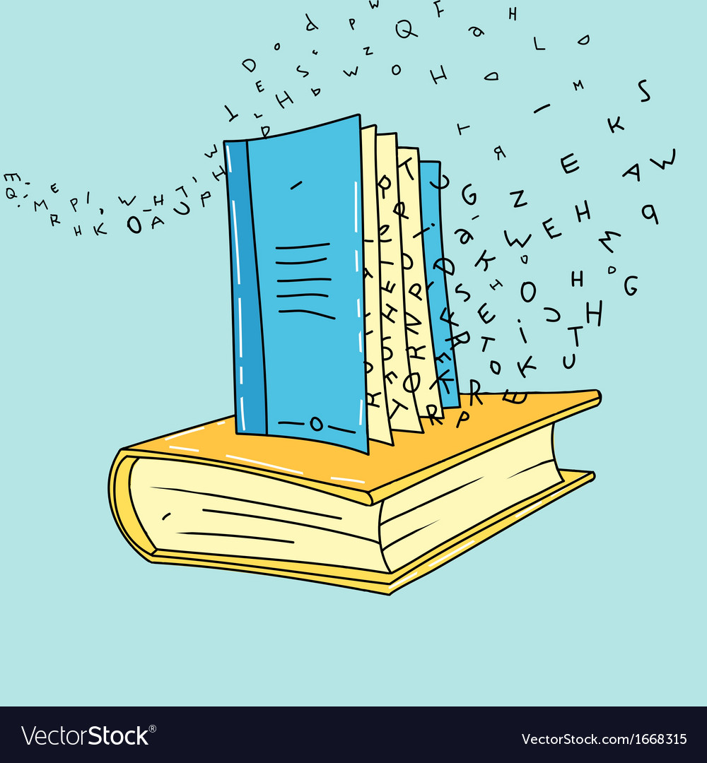 Book art vector | Price: 1 Credit (USD $1)
