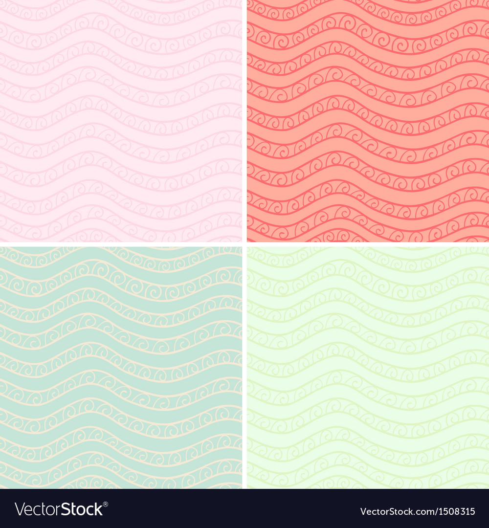 Ornamented patterns vector | Price: 1 Credit (USD $1)