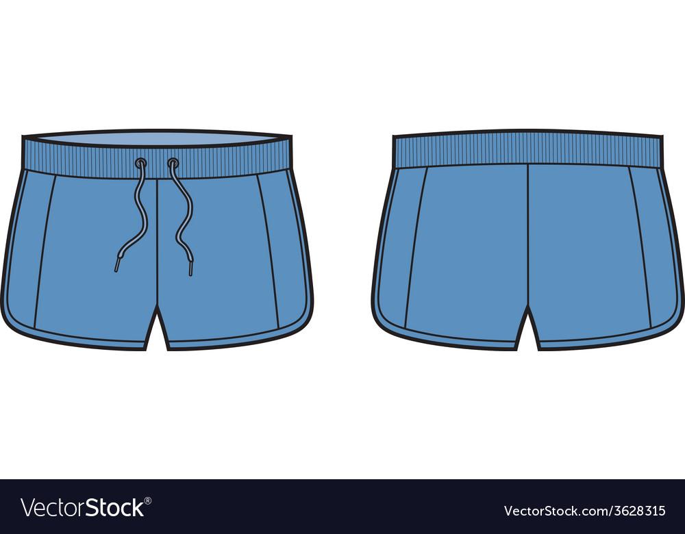 Sport shorts vector   Price: 1 Credit (USD $1)