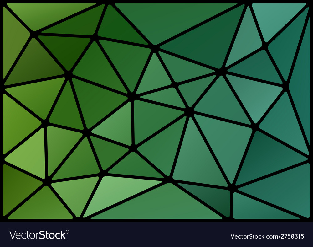 Triagles green black vector | Price: 1 Credit (USD $1)