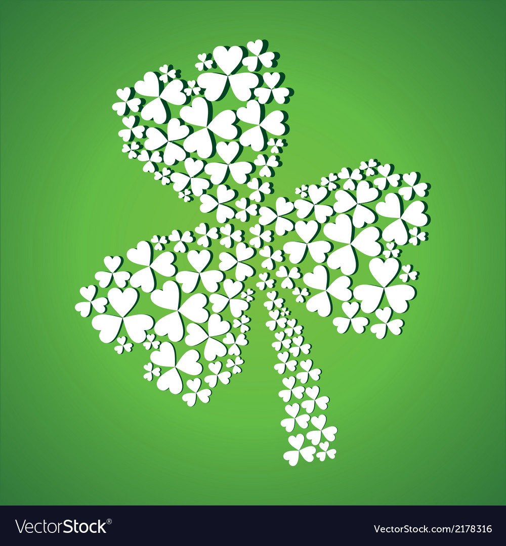 Abstract st patrick day vector | Price: 1 Credit (USD $1)