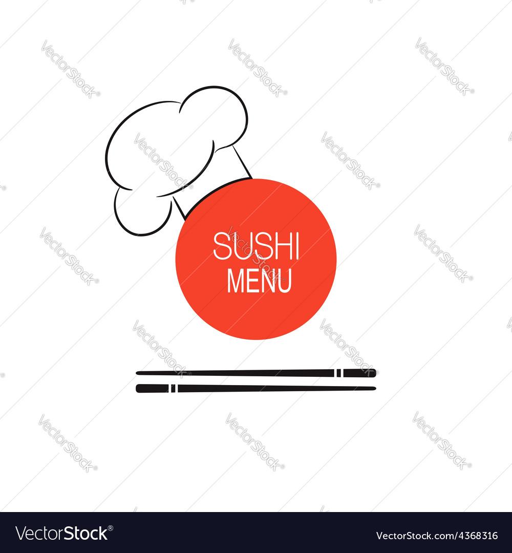 Sushi menu idea vector | Price: 1 Credit (USD $1)