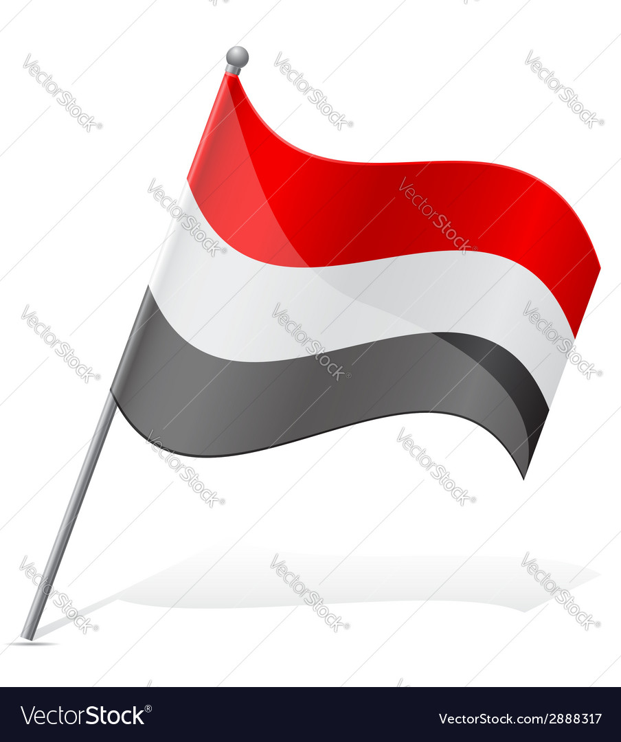 Flag of egypt vector | Price: 1 Credit (USD $1)