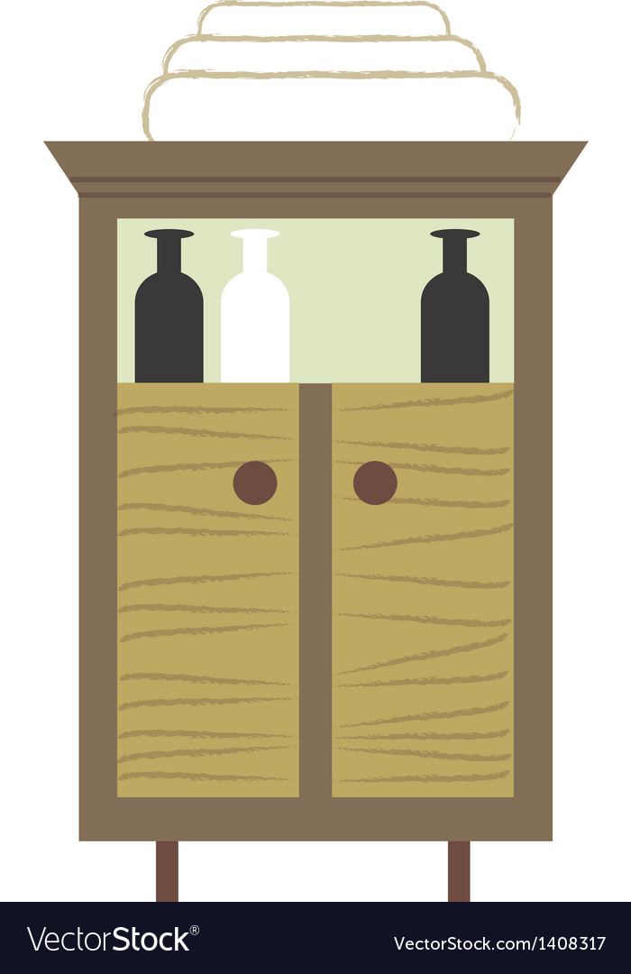 Icon cupboard vector | Price: 1 Credit (USD $1)