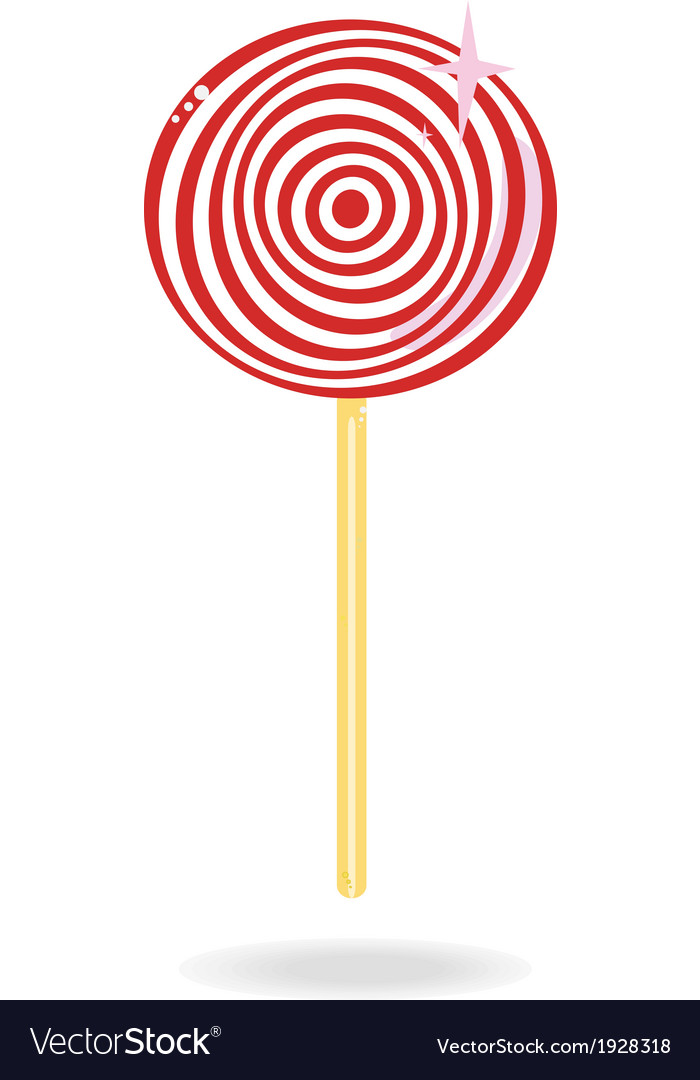 Lollipop candy vector | Price: 1 Credit (USD $1)