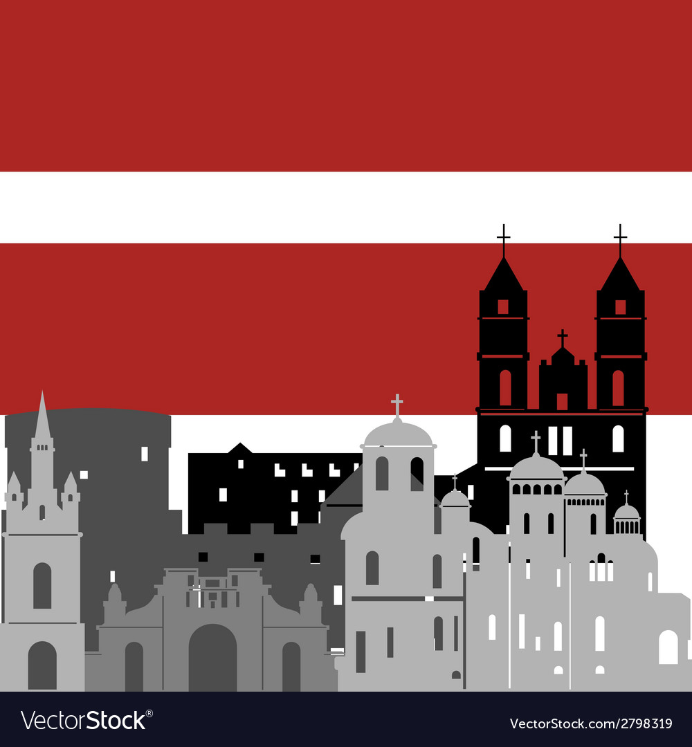 Latvia vector | Price: 1 Credit (USD $1)