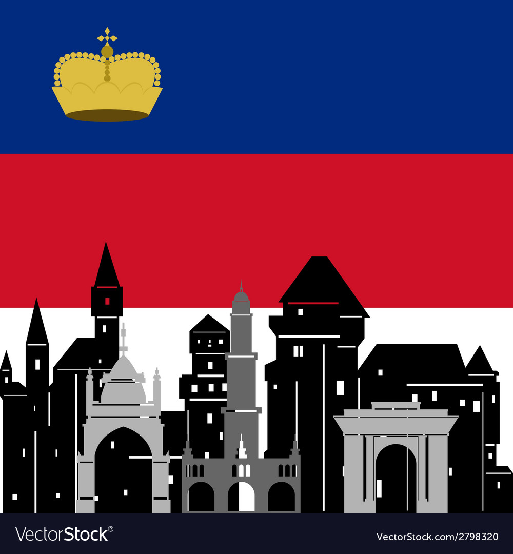 Liechtenstein vector | Price: 1 Credit (USD $1)