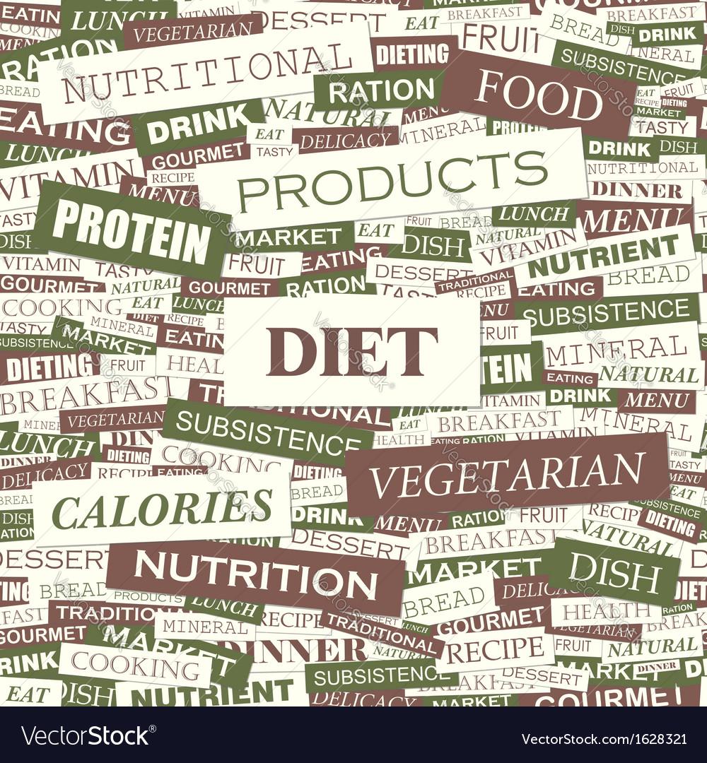 Diet vector   Price: 1 Credit (USD $1)
