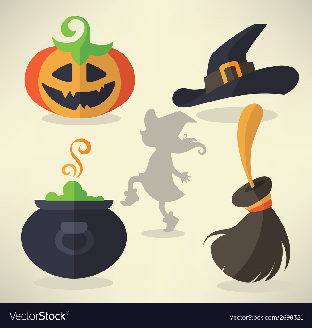 Halloween collection vector | Price: 1 Credit (USD $1)