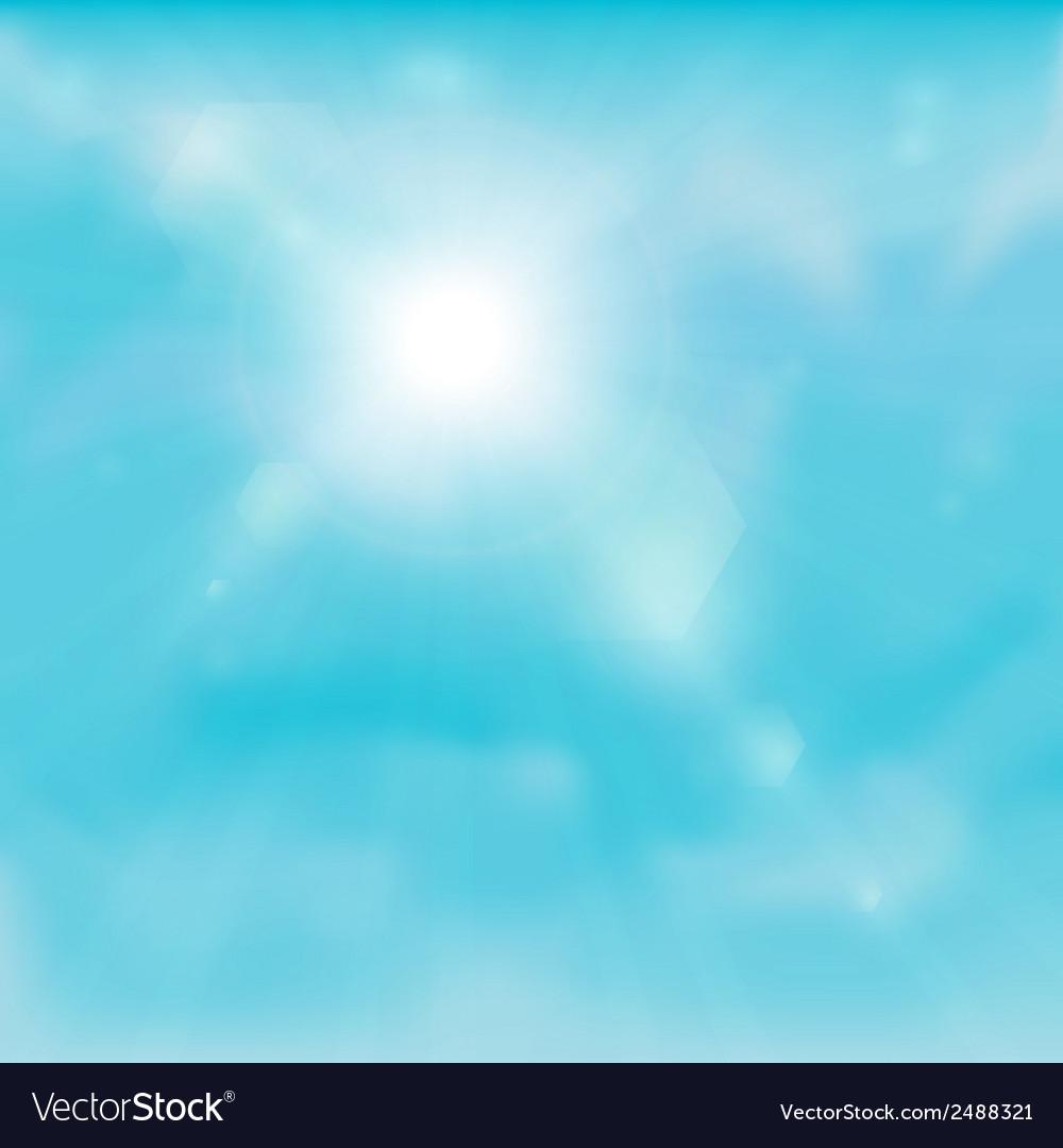 Sky background vector