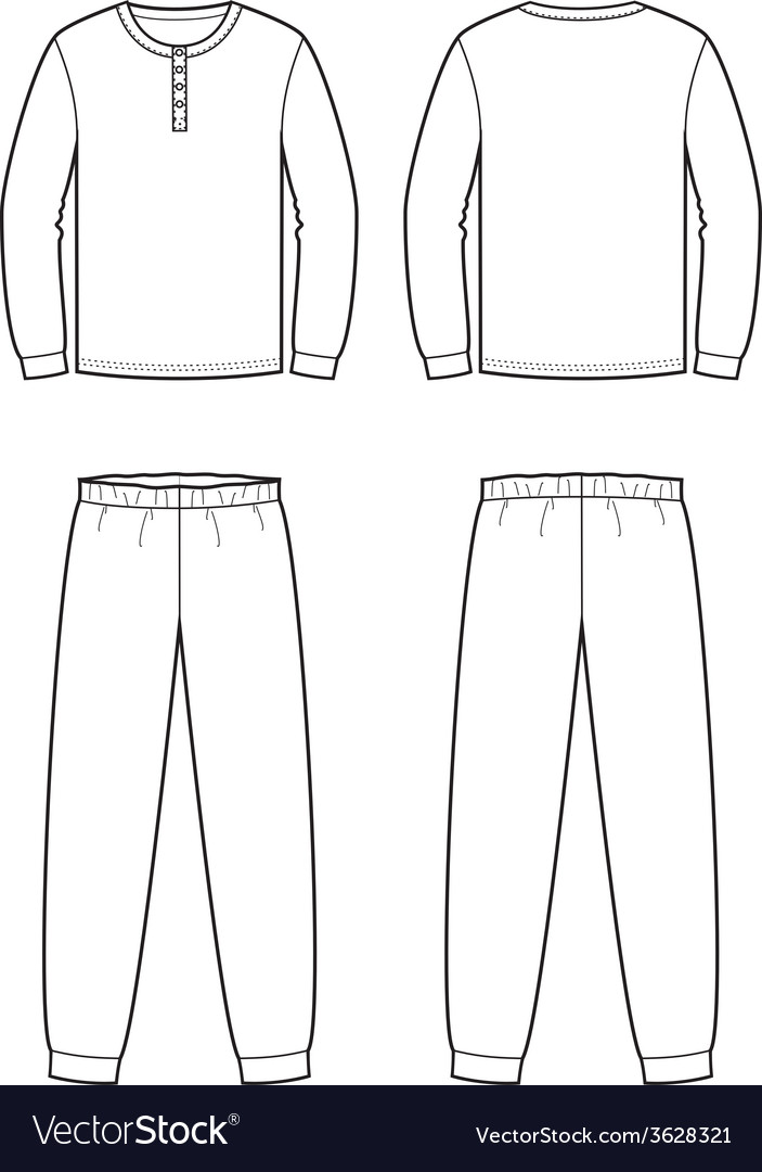 Sleepwear vector | Price: 1 Credit (USD $1)