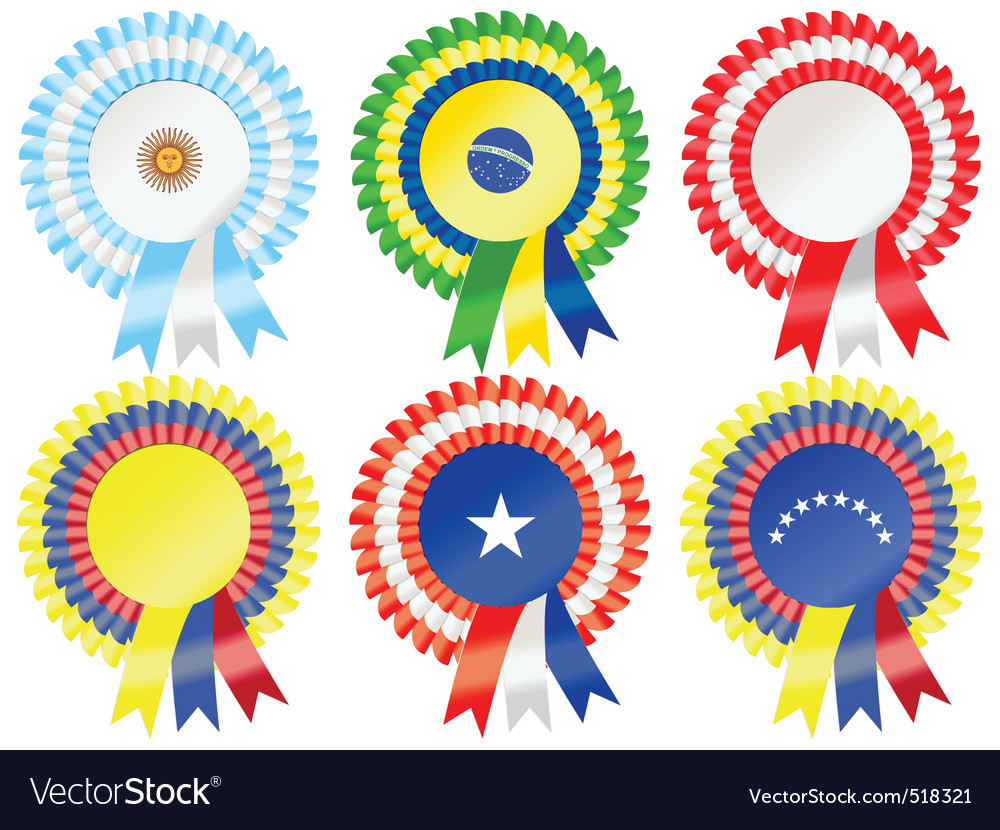 South american rosettes vector | Price: 1 Credit (USD $1)