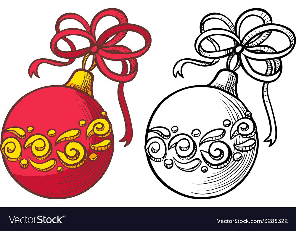 Ball decoration vector | Price: 1 Credit (USD $1)