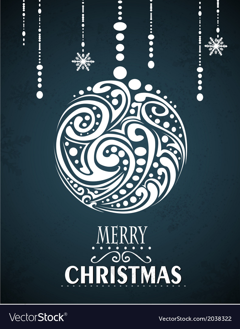 Christmas card design vector | Price: 1 Credit (USD $1)