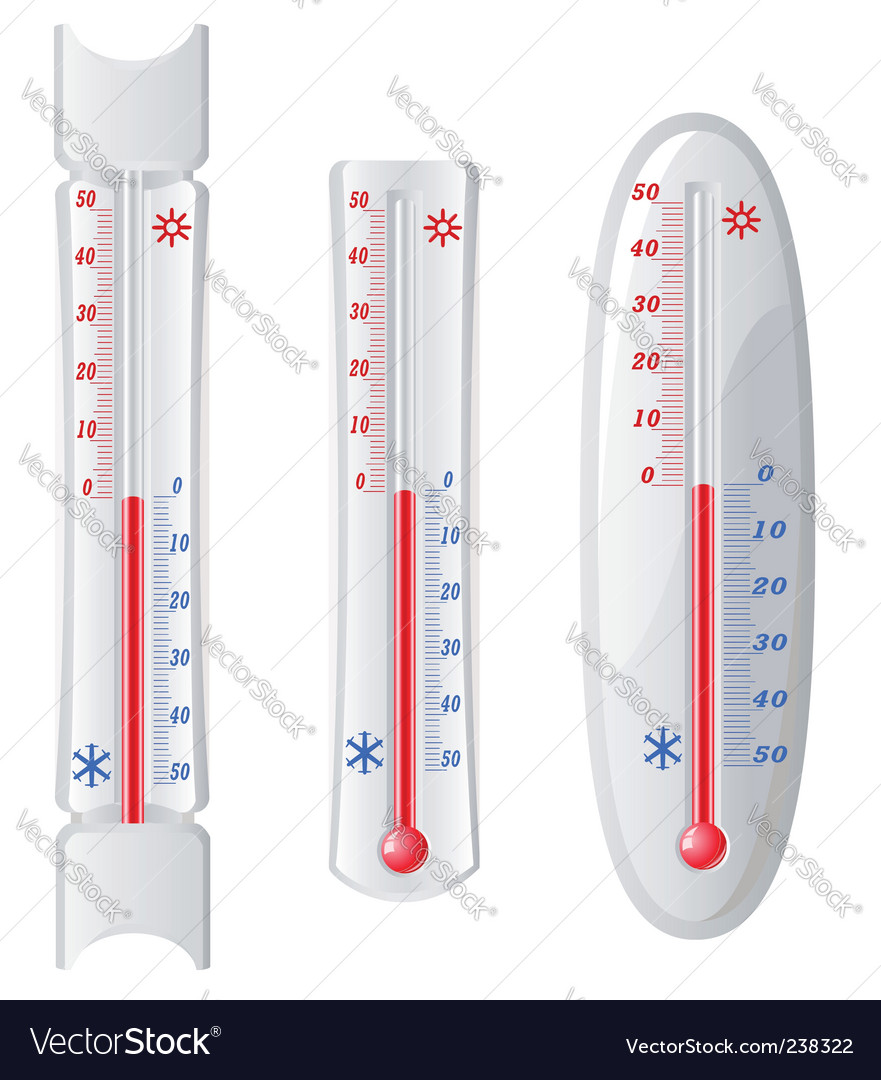 Street thermometer vector | Price: 1 Credit (USD $1)