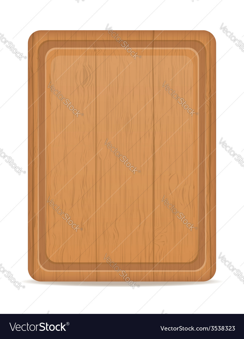 Cutting board 02 vector | Price: 1 Credit (USD $1)