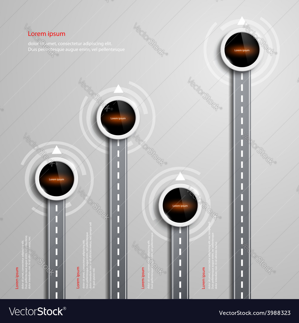 Info graphic design vector | Price: 1 Credit (USD $1)