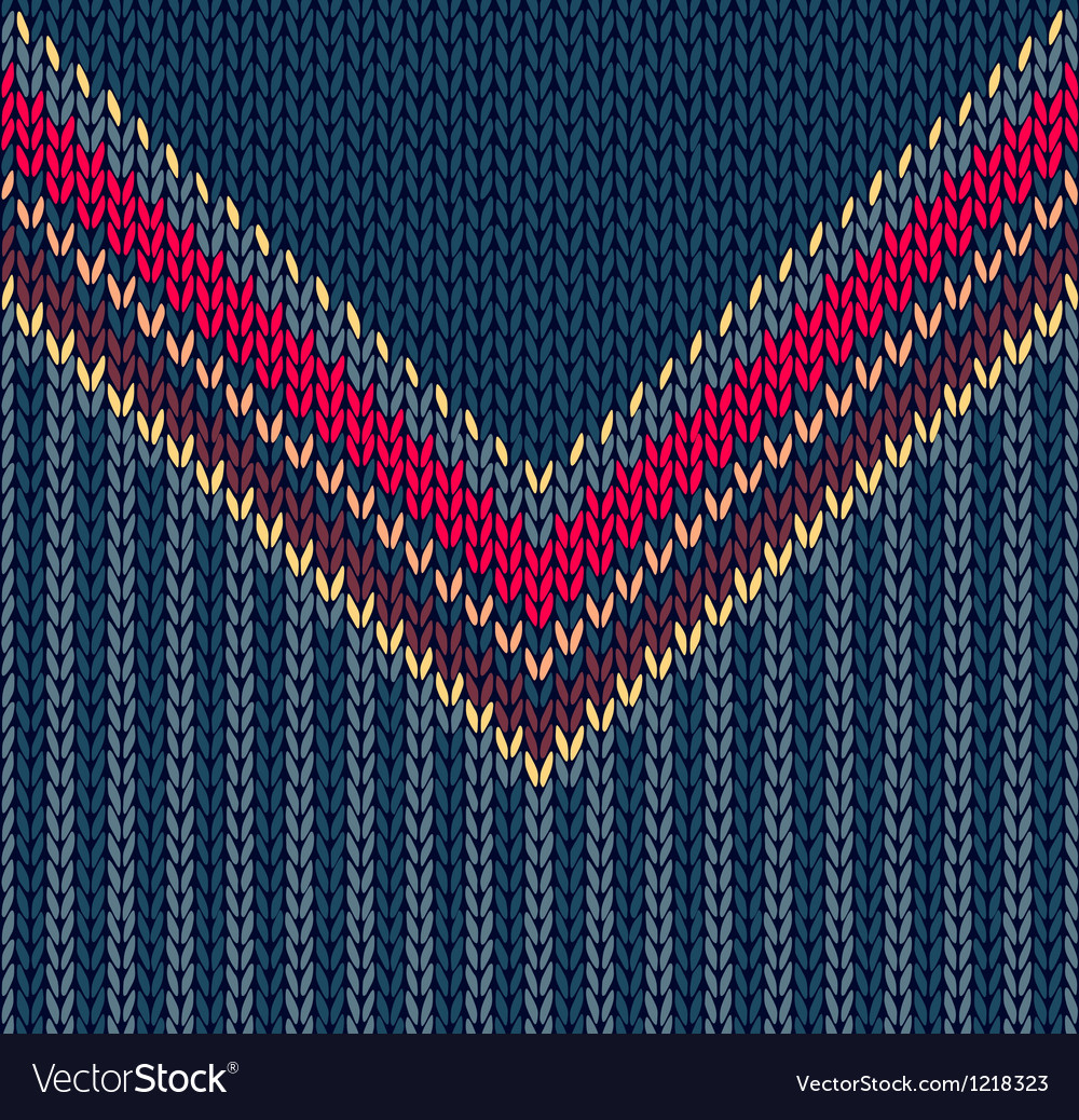 Sweater seamless pattern vector | Price: 1 Credit (USD $1)