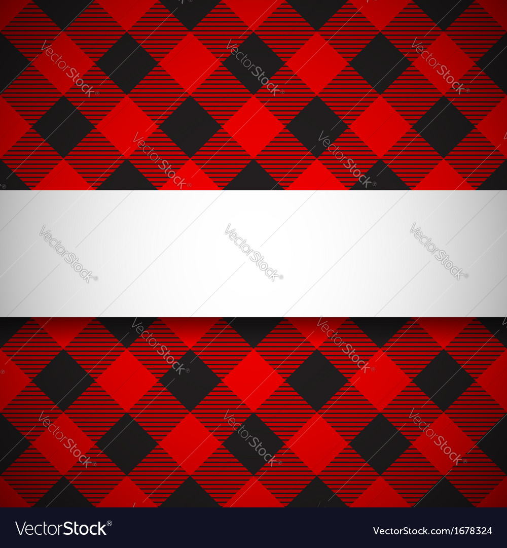 Classic tilted lumberjack plaid pattern vector | Price: 1 Credit (USD $1)