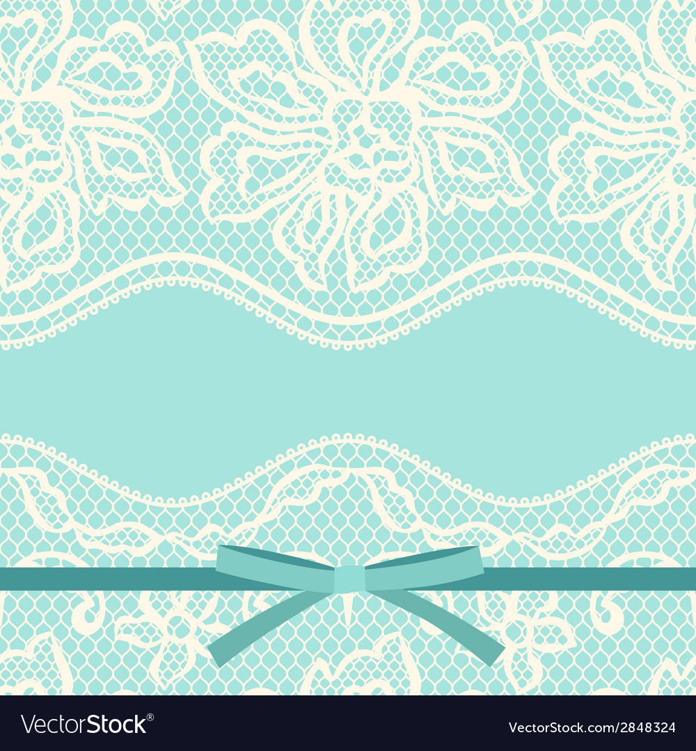 Vintage fashion lace ornament background with vector | Price: 1 Credit (USD $1)