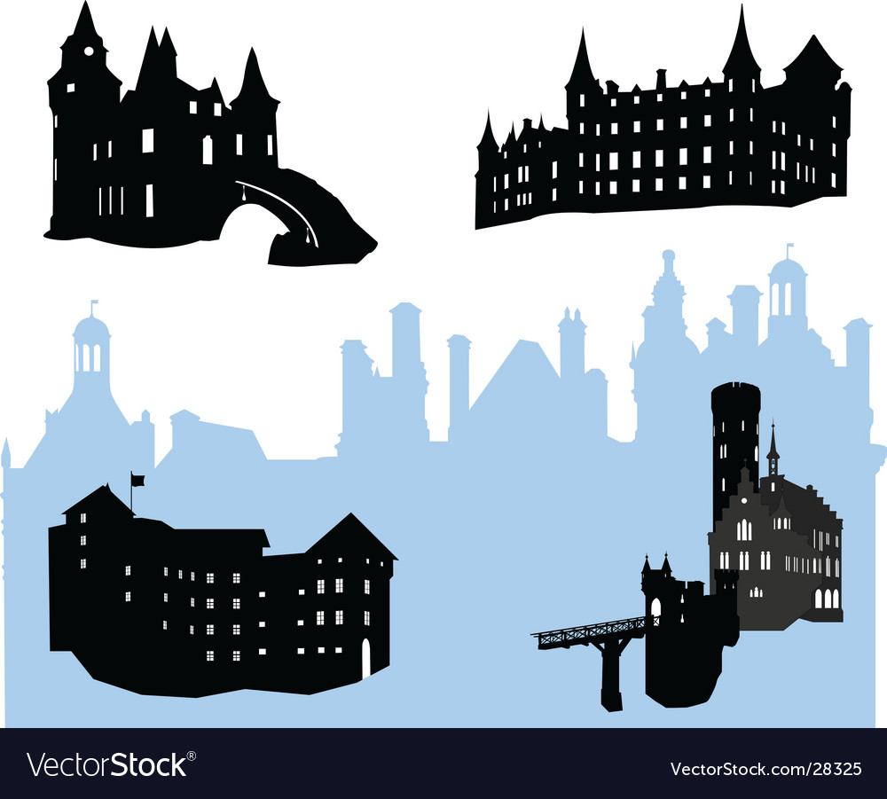 Castles vector | Price: 1 Credit (USD $1)