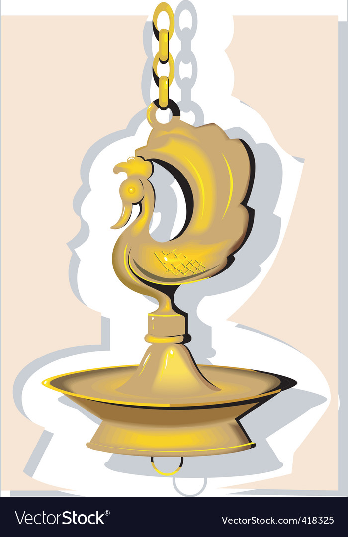 Devine lamp vector | Price: 1 Credit (USD $1)