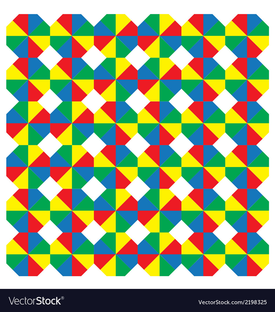 Multicoloured octagons vector | Price: 1 Credit (USD $1)