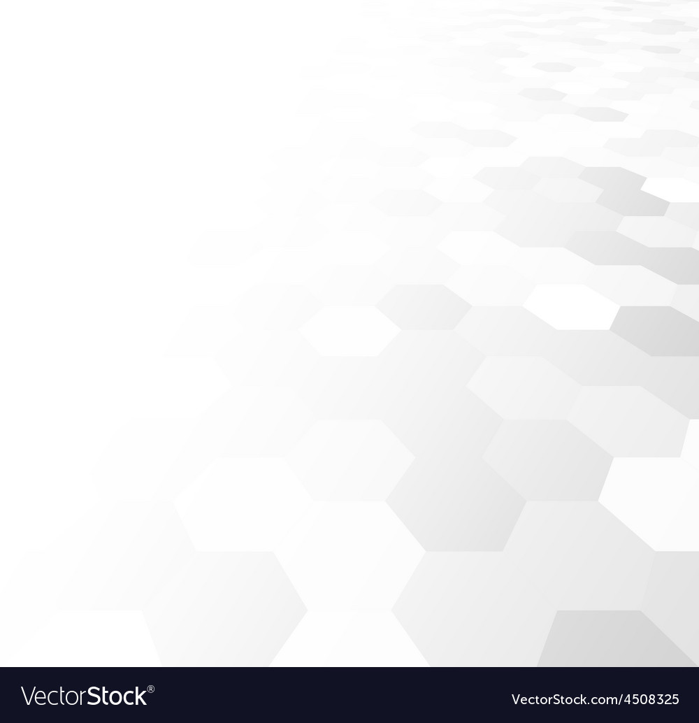 Perspective grid hexagonal surface vector | Price: 1 Credit (USD $1)