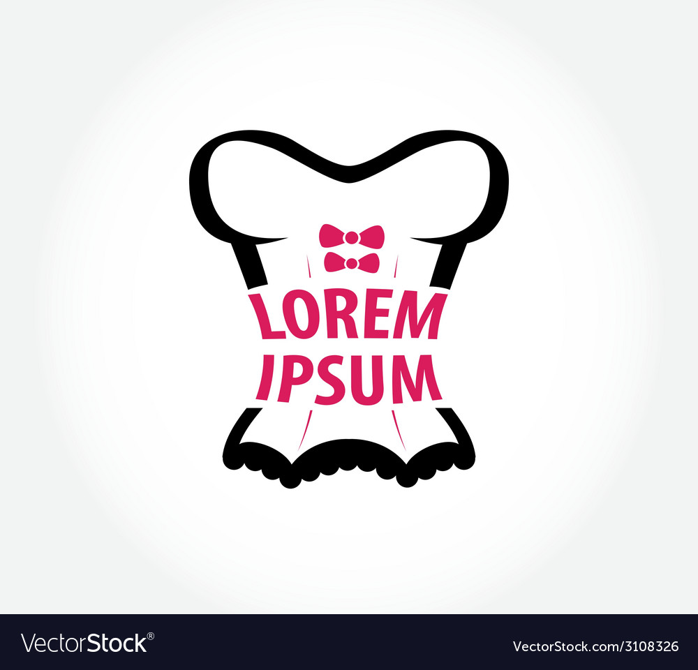Corset logo design template vector | Price: 1 Credit (USD $1)