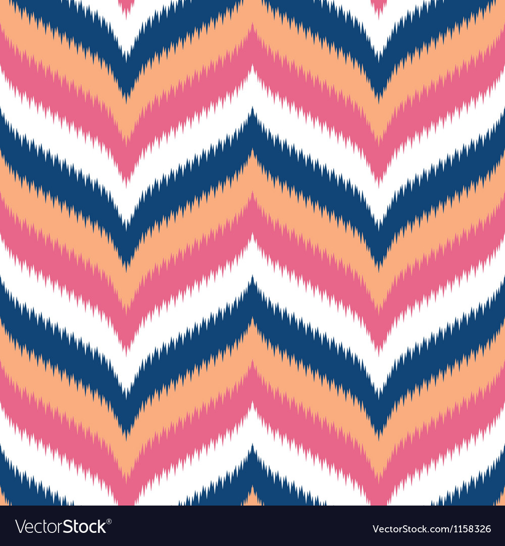 Modern ikat chevron vector | Price: 1 Credit (USD $1)