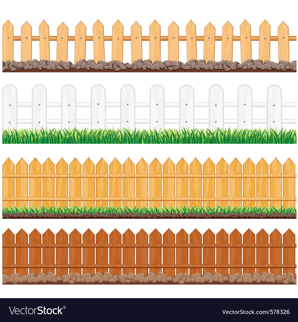 Seamless fences collection vector | Price: 1 Credit (USD $1)