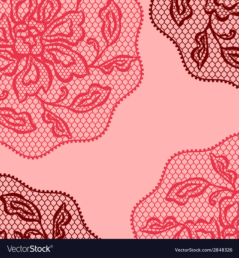 Vintage fashion lace ornament background with vector   Price: 1 Credit (USD $1)