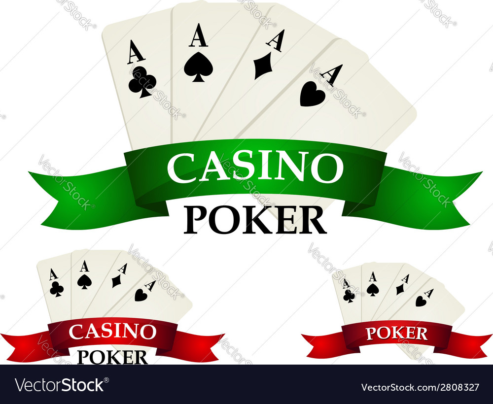 Casino gambling symbols and signs vector | Price: 1 Credit (USD $1)