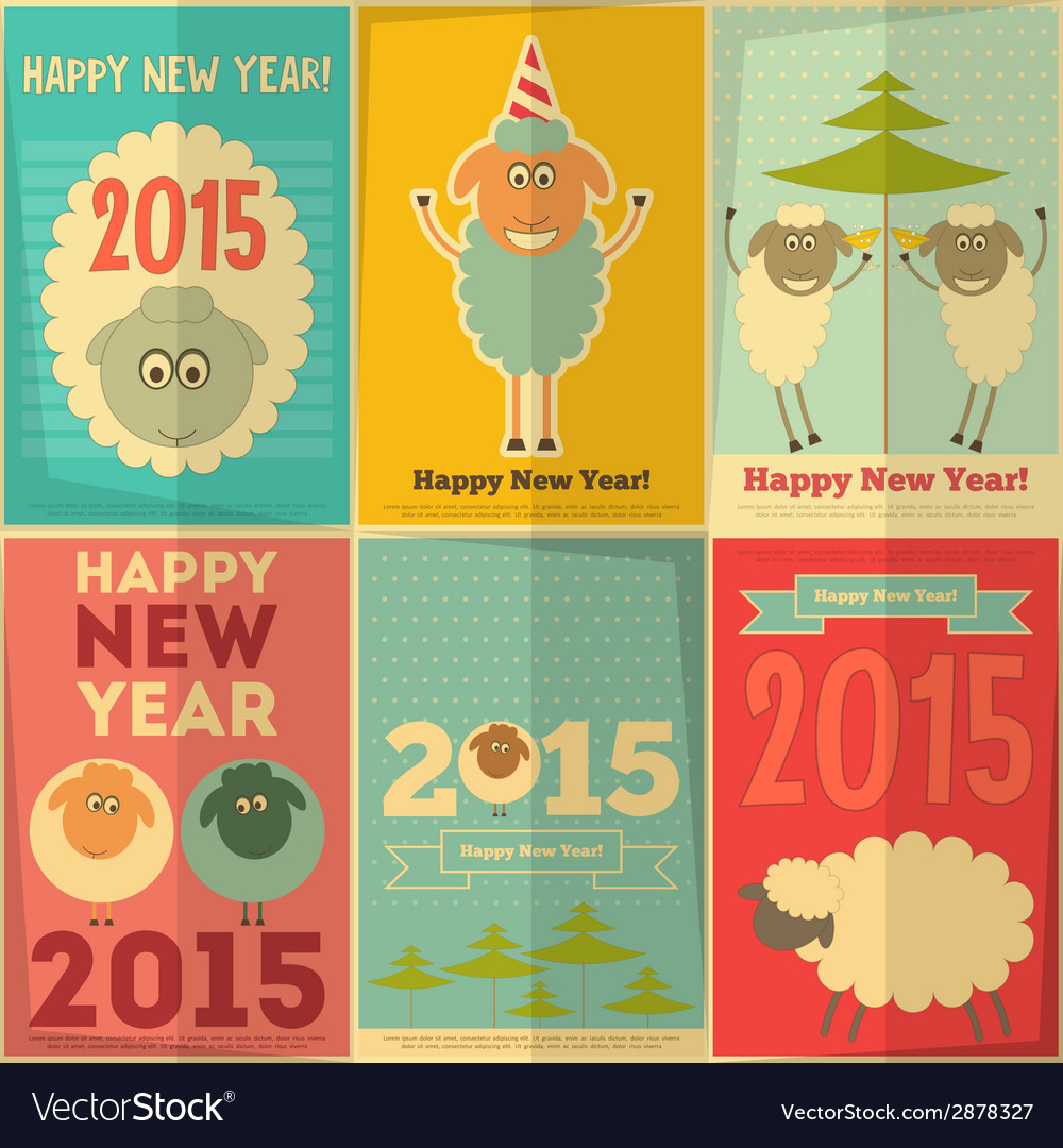 New year cards vector   Price: 1 Credit (USD $1)