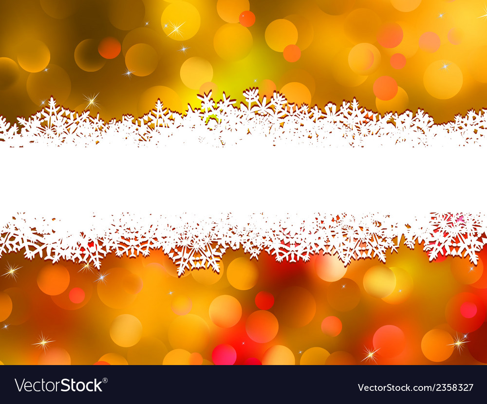 Orange christmas background with copyspace eps 10 vector | Price: 1 Credit (USD $1)