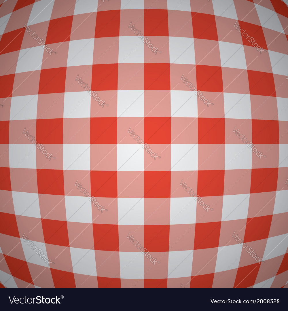 Picnic tablecloth background vector | Price: 1 Credit (USD $1)