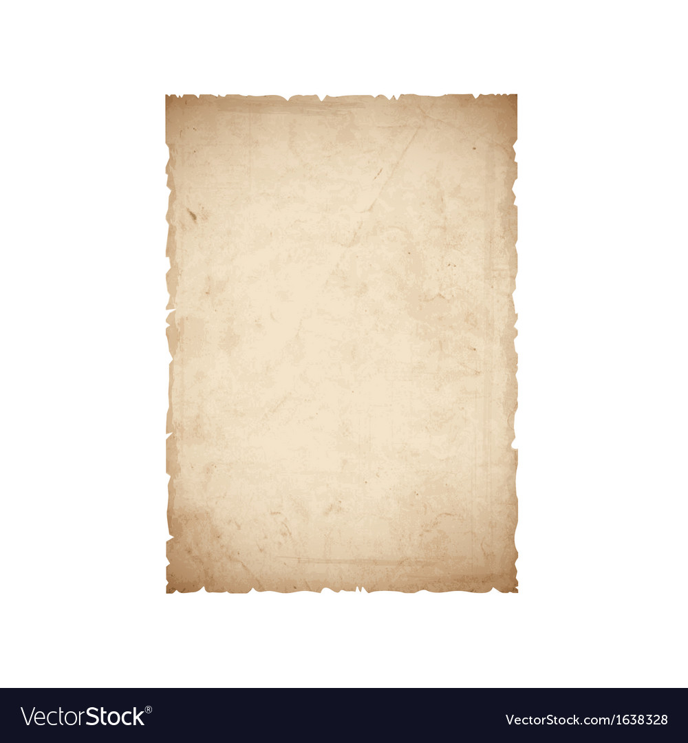 Sheet of old paper vector | Price: 1 Credit (USD $1)
