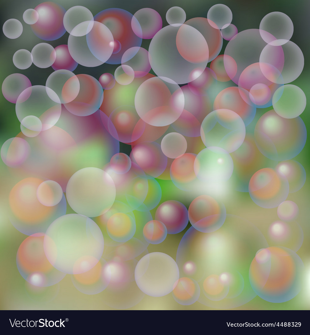 Background soap bubbles vector   Price: 1 Credit (USD $1)