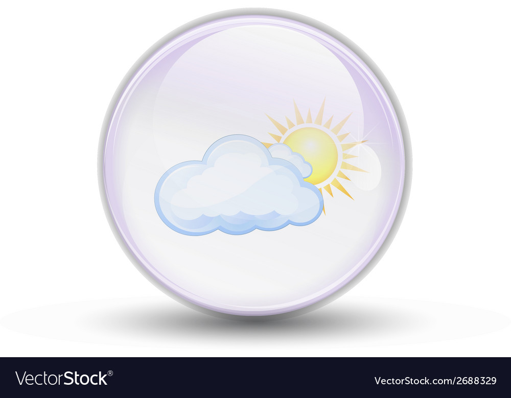 Bubble weather vector | Price: 1 Credit (USD $1)