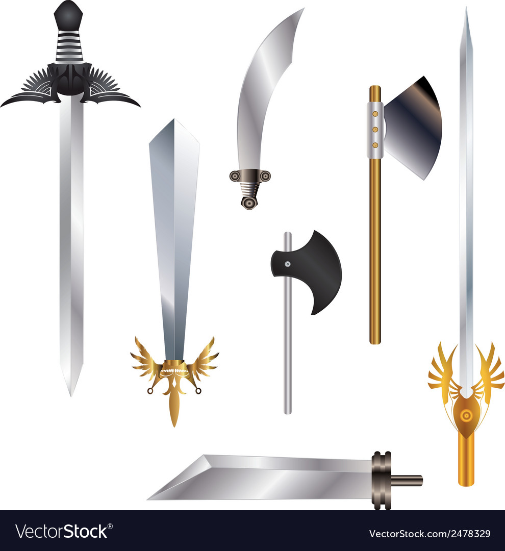 Swordcollection vector | Price: 1 Credit (USD $1)