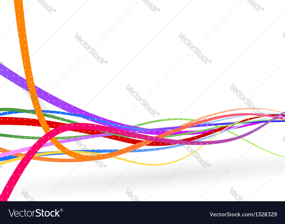 Wire background - stream line vector | Price: 1 Credit (USD $1)