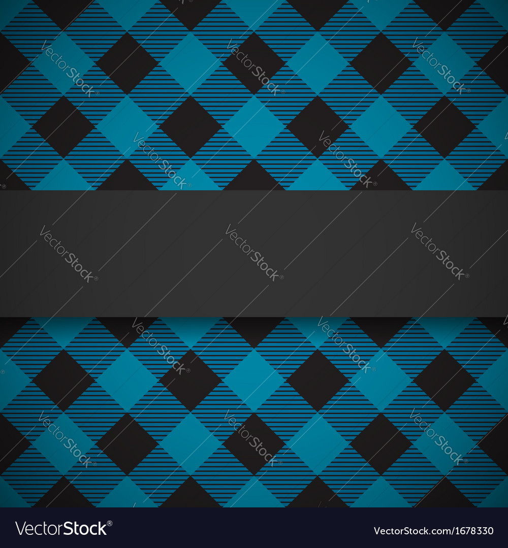 Blue tilted lumberjack plaid pattern vector | Price: 1 Credit (USD $1)